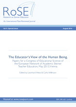 RoSE - Research on Steiner Education Special issue